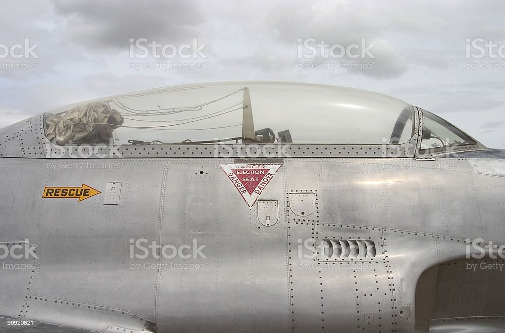 Jet Canopy 3 stock photo