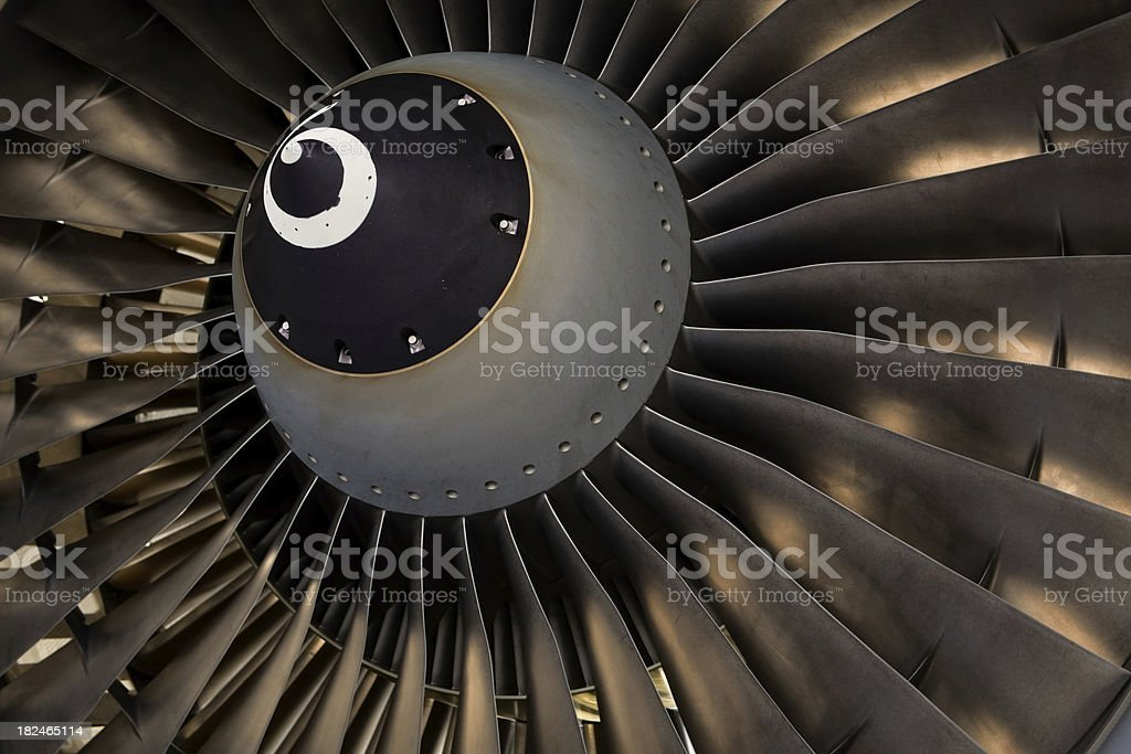 Jet Close Up royalty-free stock photo
