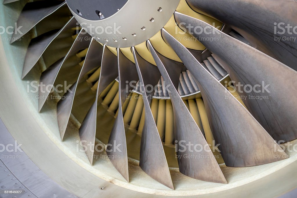 Jet Engine stock photo