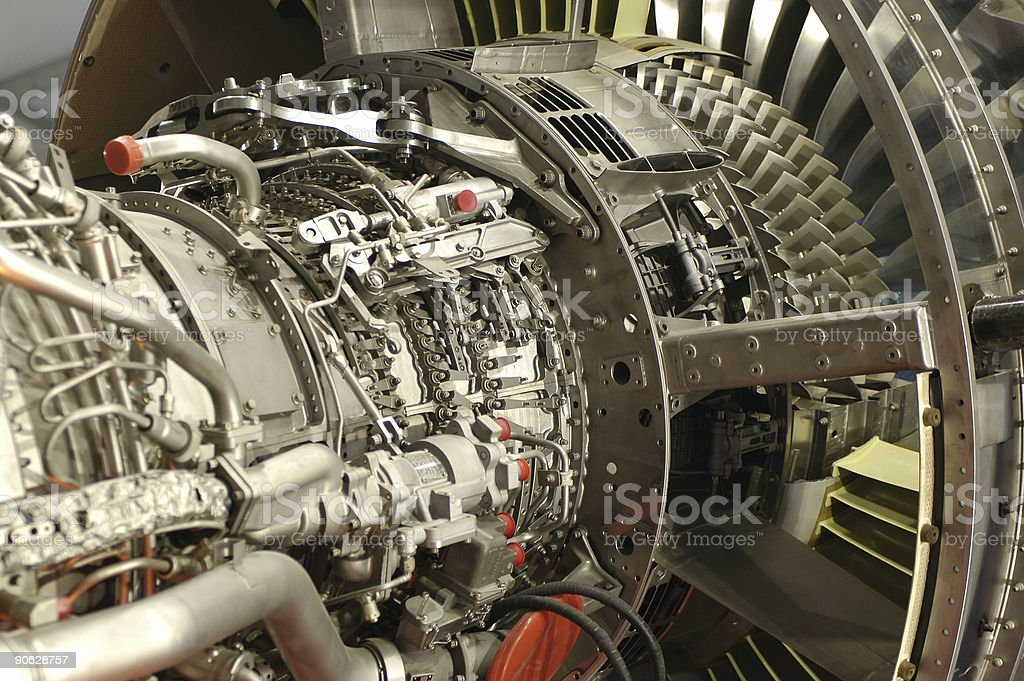 Jet Engine royalty-free stock photo