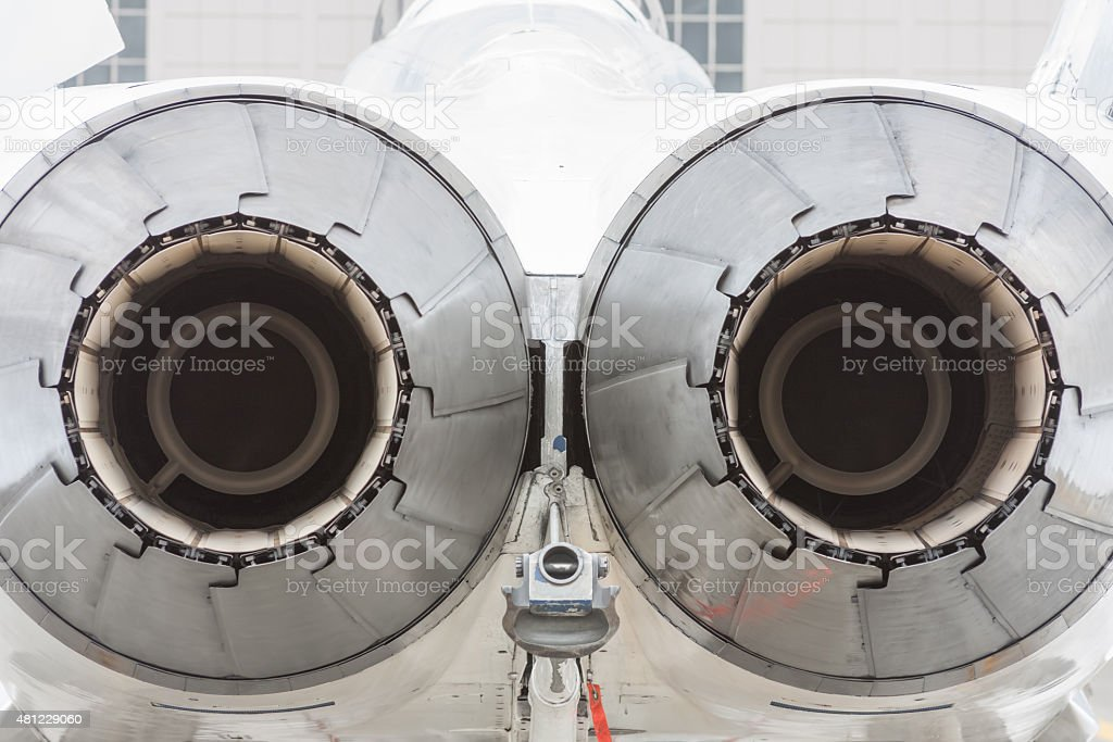 Jet Engines stock photo
