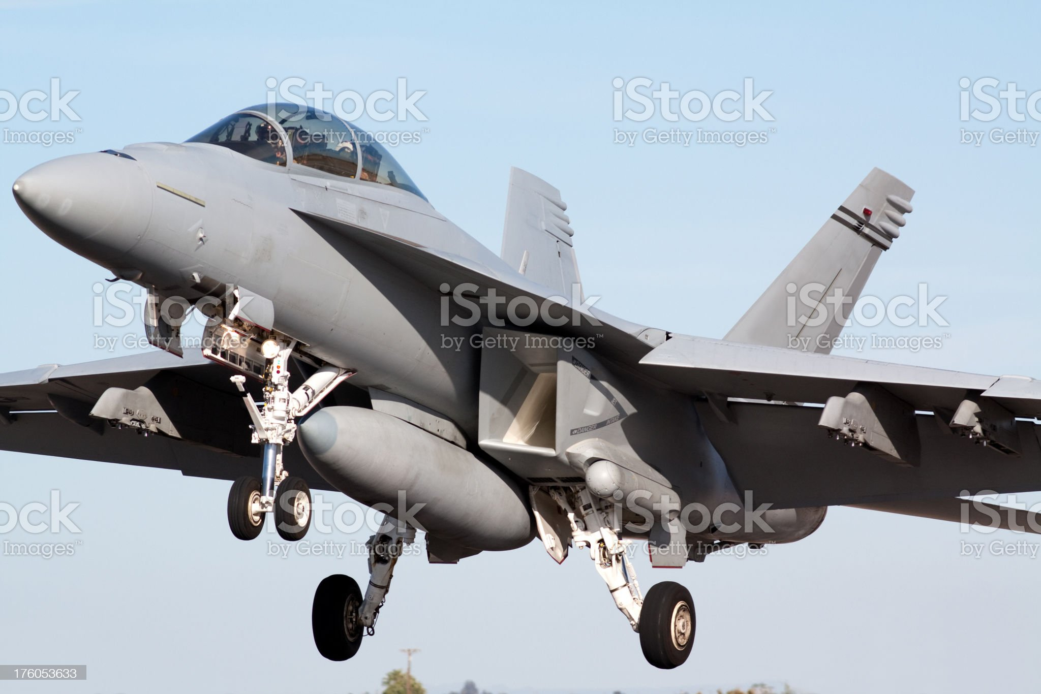 Jet Fighter royalty-free stock photo