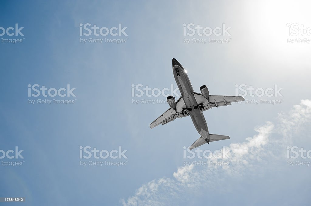 Jet Flight royalty-free stock photo