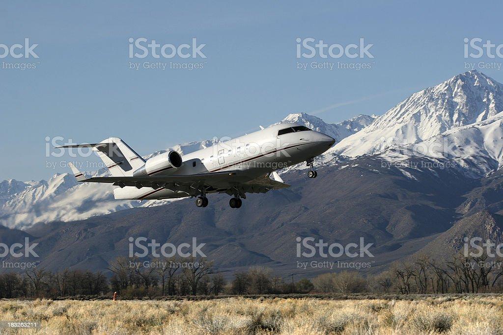 Jet Launching royalty-free stock photo