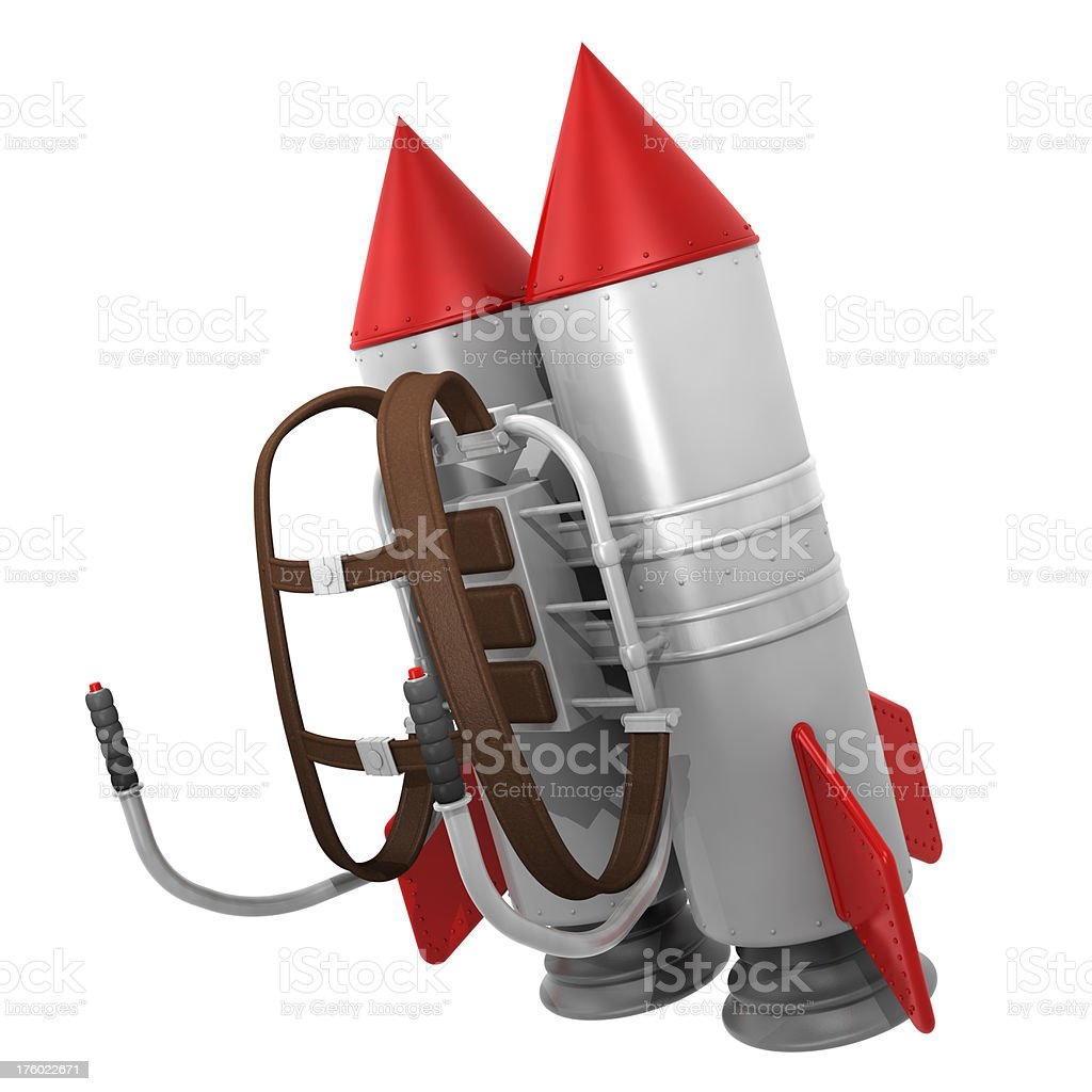 Jet Pack royalty-free stock photo