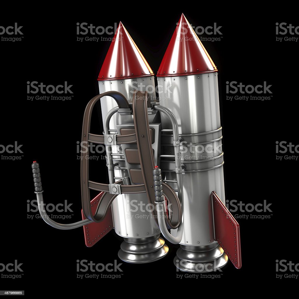 Jet pack stock photo