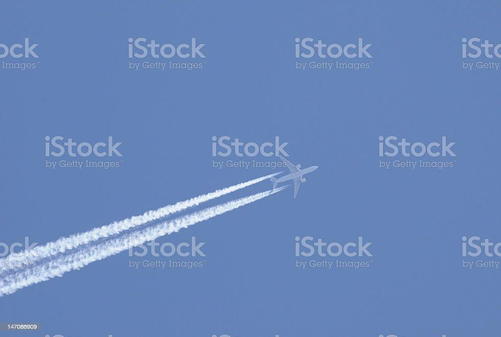 Jet royalty-free stock photo
