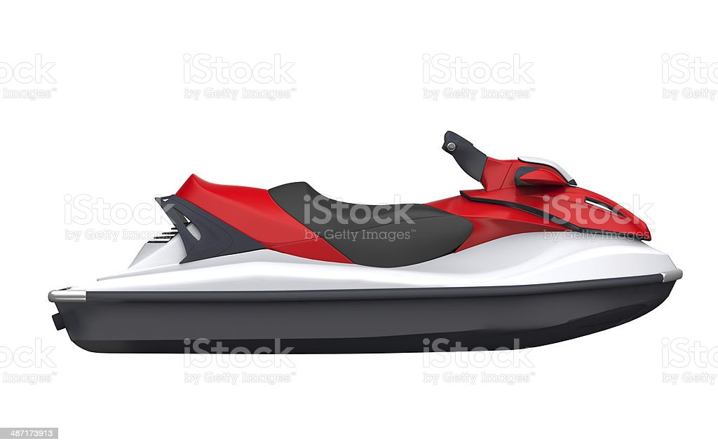 Jet Ski Isolated stock photo
