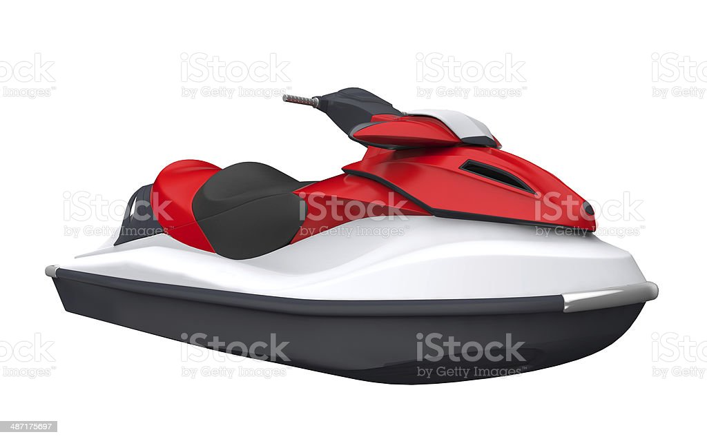 Jet Ski Isolated stock photo