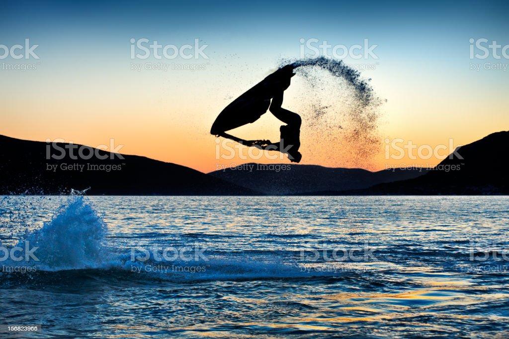 Jet Ski stock photo