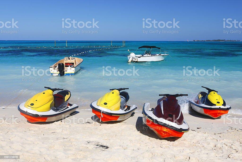 Jet ski royalty-free stock photo