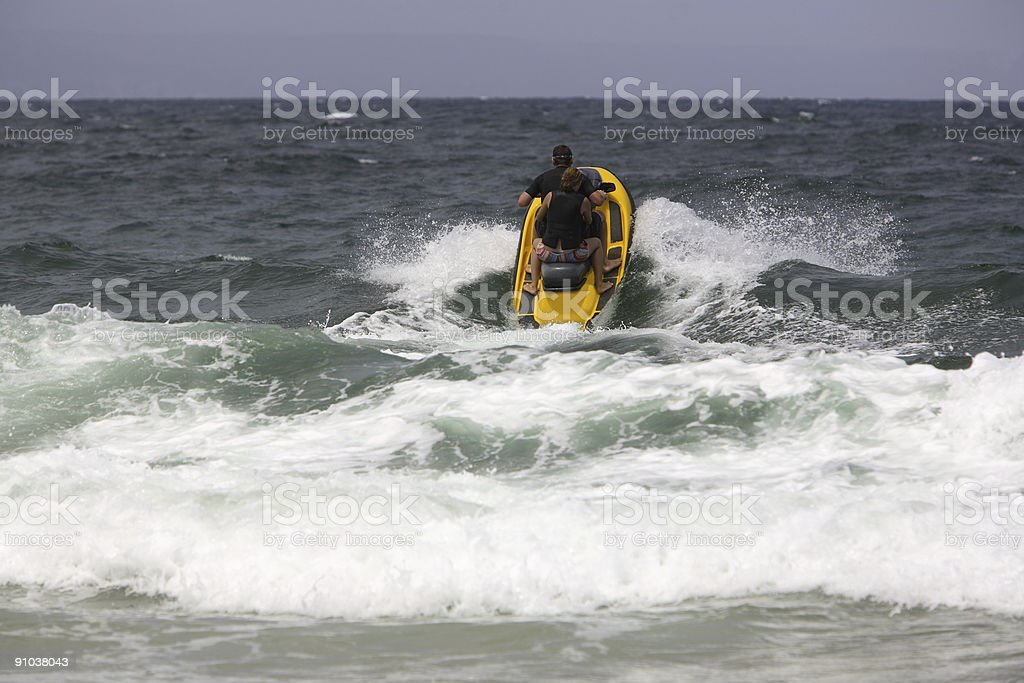 Jet Skiing royalty-free stock photo