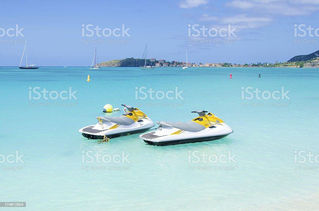 Jet Skis royalty-free stock photo