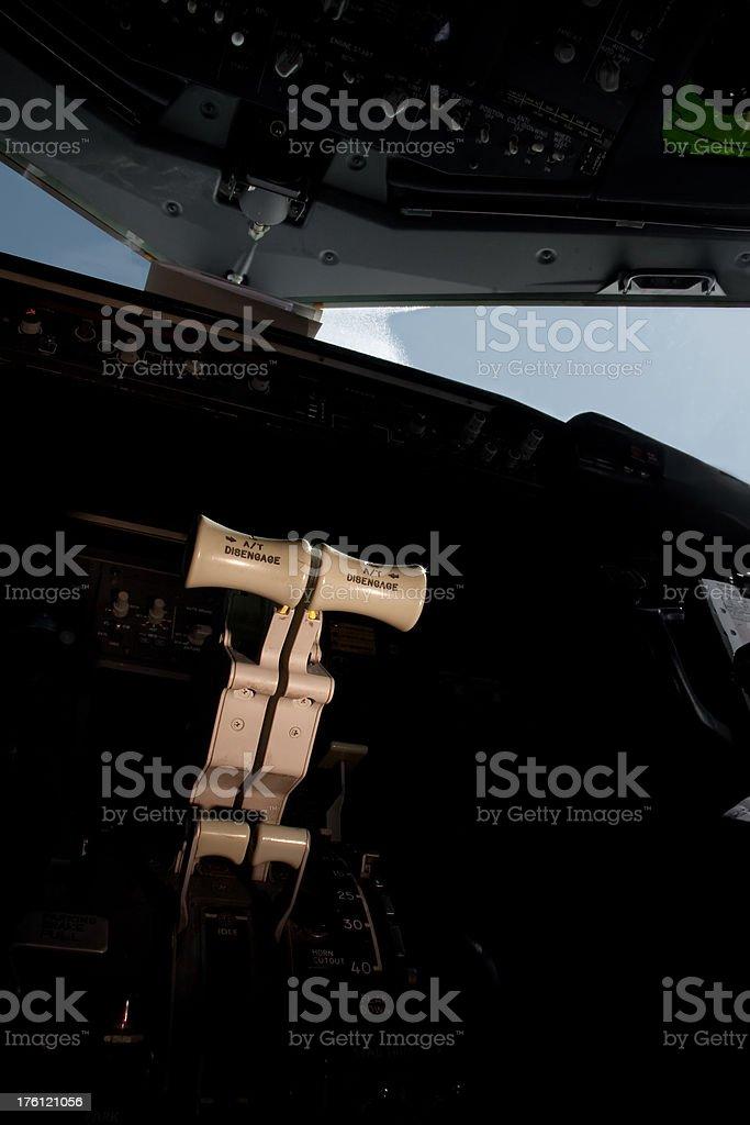 jet throttle royalty-free stock photo