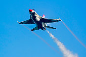 Jet US Air Force Thunderbirds fighter