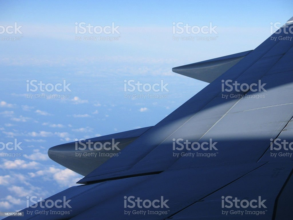 Jet Wing 2 royalty-free stock photo