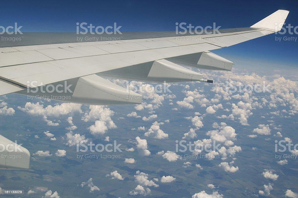 Jet ala de foto royalty-free