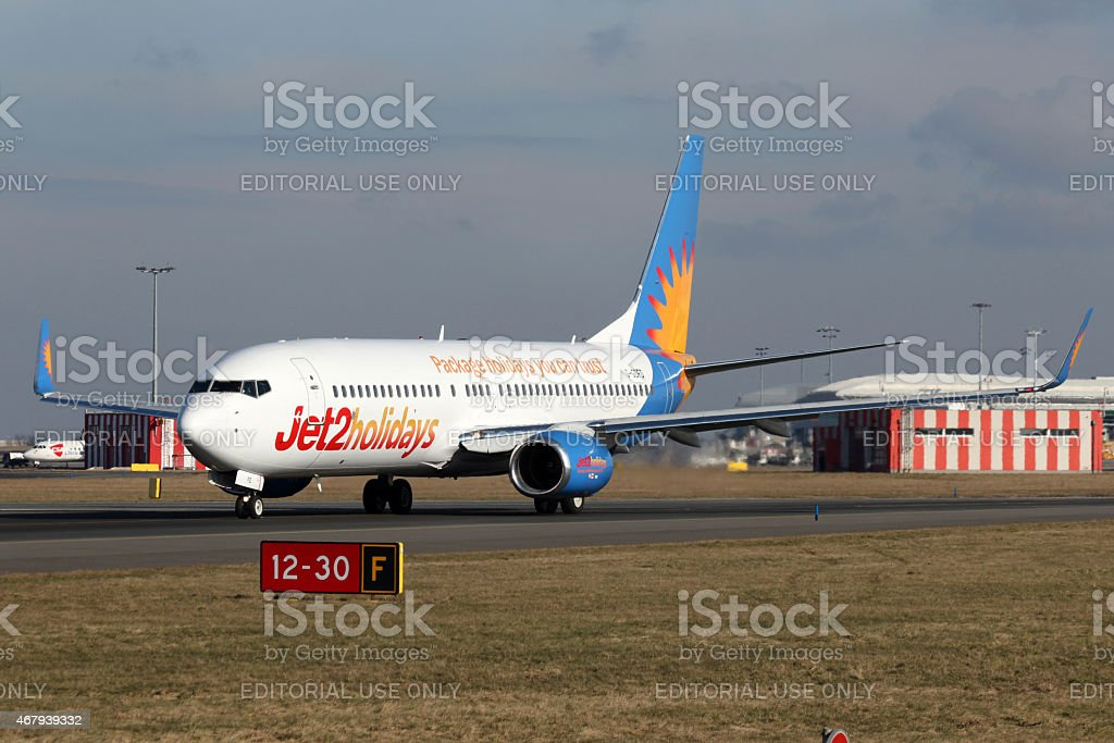 Jet2 Holidays stock photo
