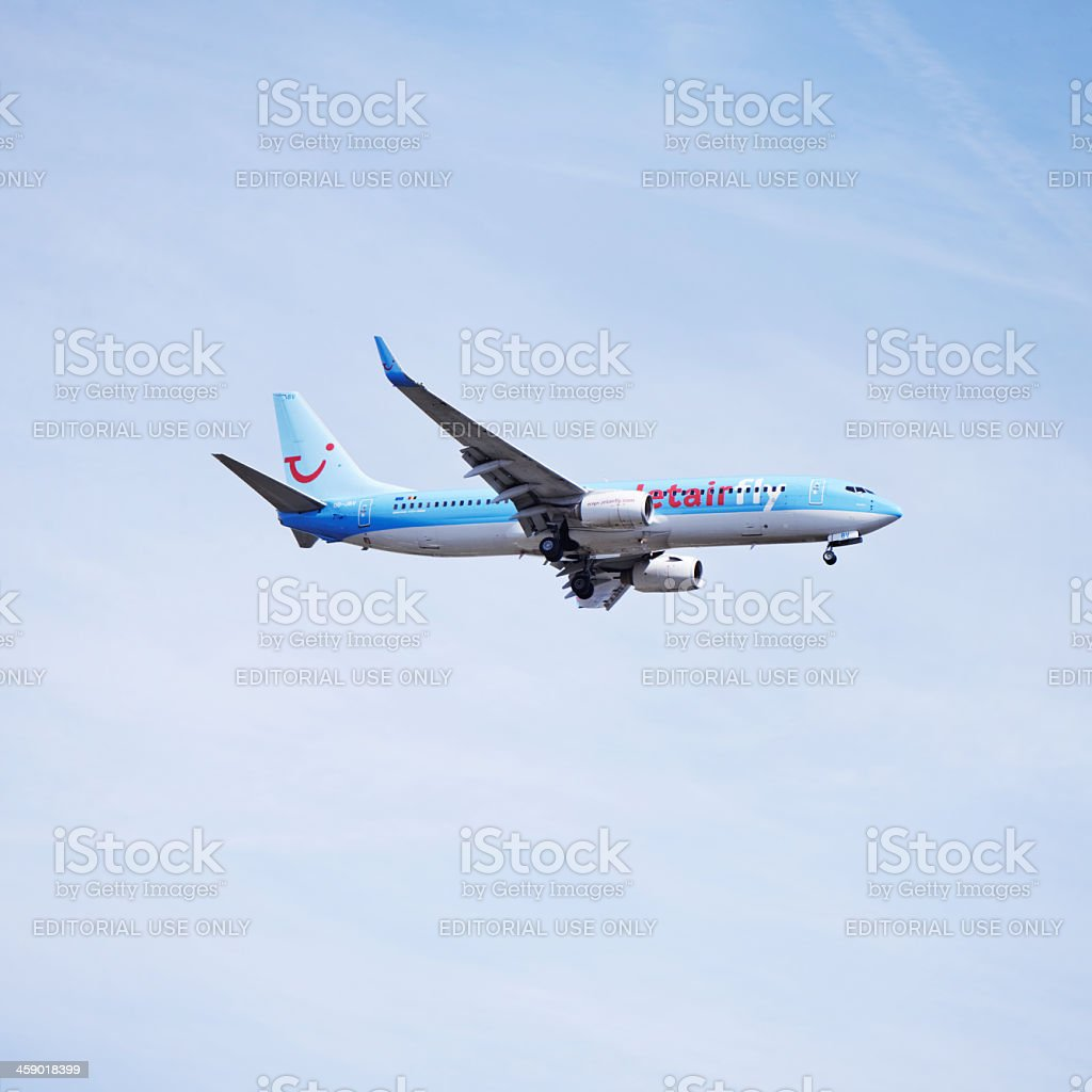 Jetairfly airline royalty-free stock photo