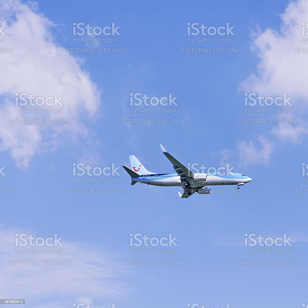 Jetairfly airline stock photo