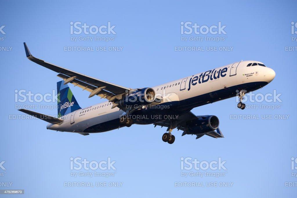 JetBlue Airways Airbus A321 stock photo