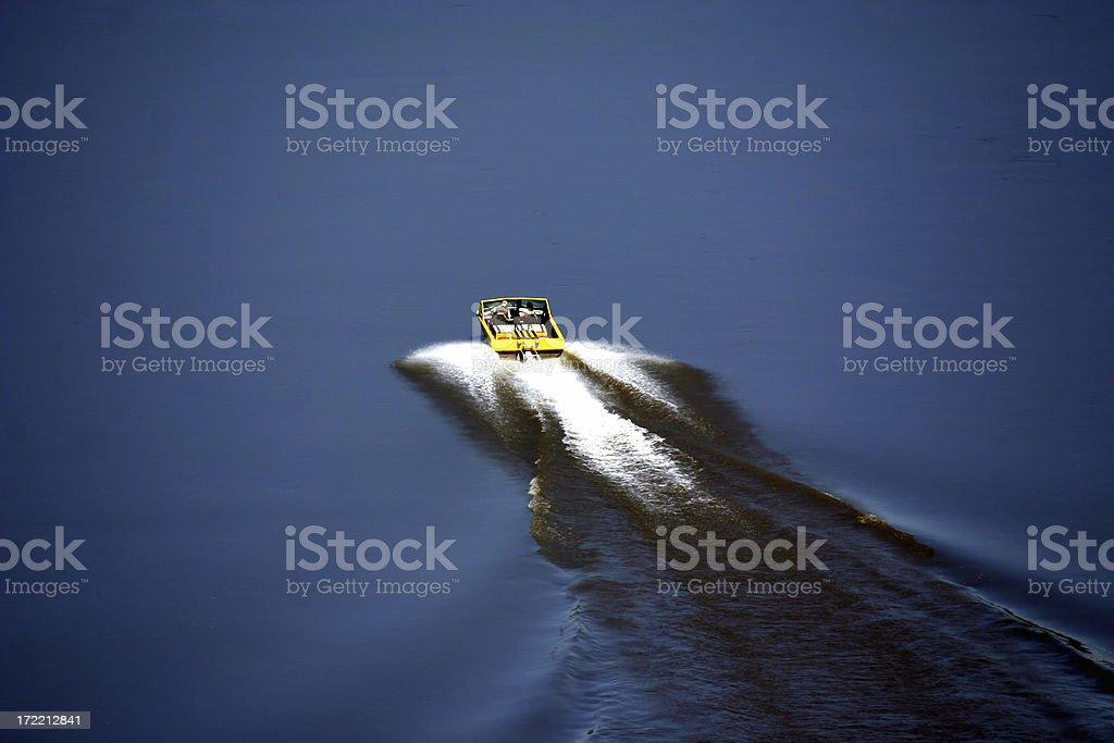 Jetboating stock photo