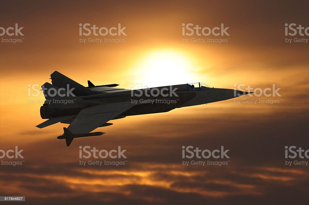 jetfighter stock photo