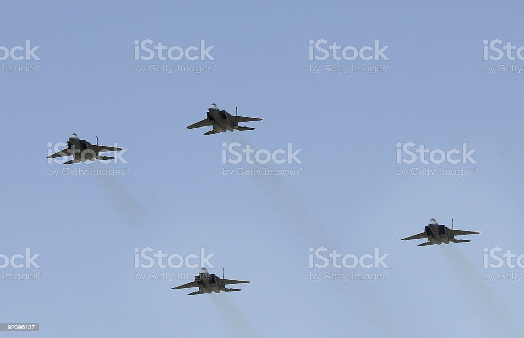 Jetfighters royalty-free stock photo