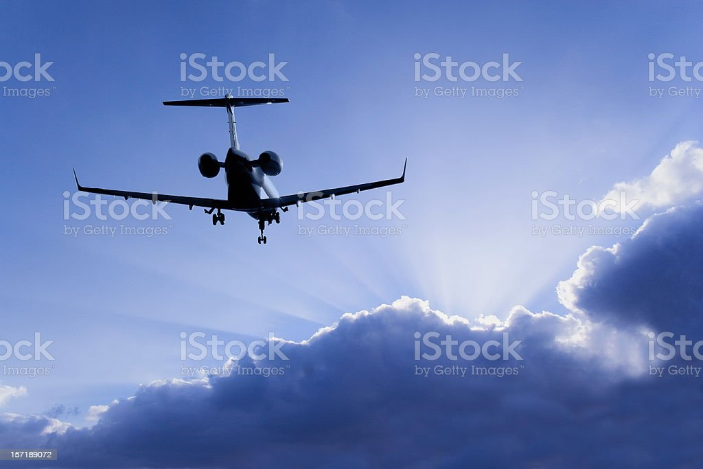 Jet-setting Journey stock photo