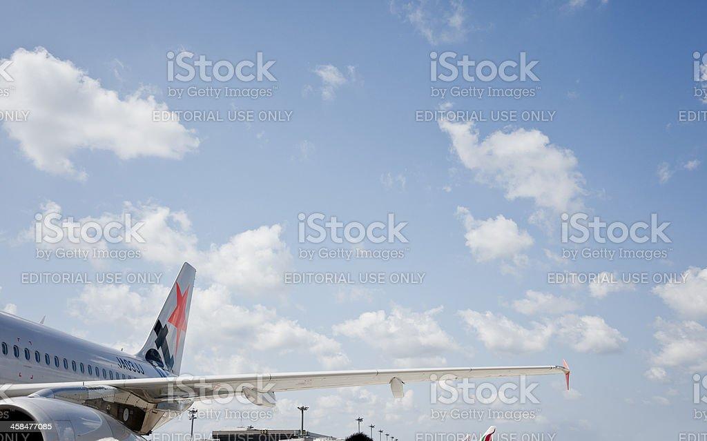 Jetstar Airways royalty-free stock photo