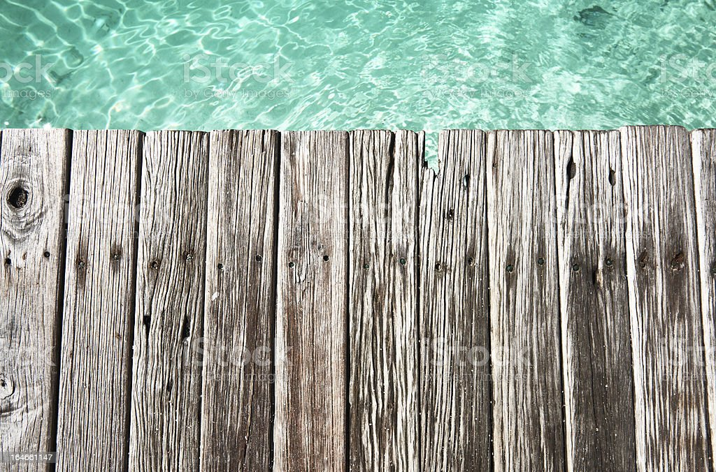 Jetty by the sea royalty-free stock photo