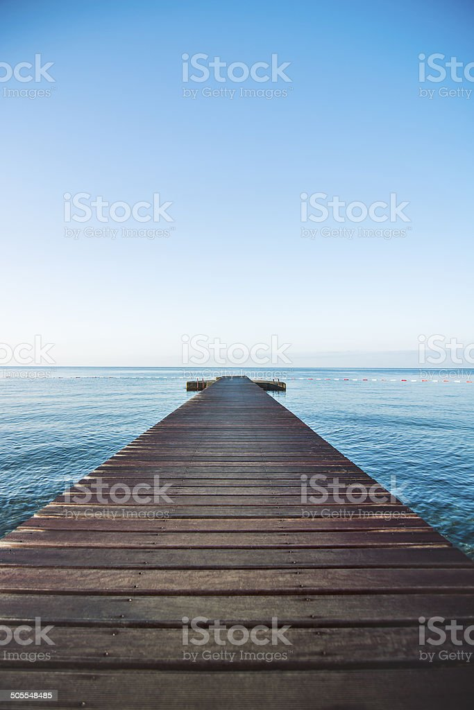 Jetty stock photo
