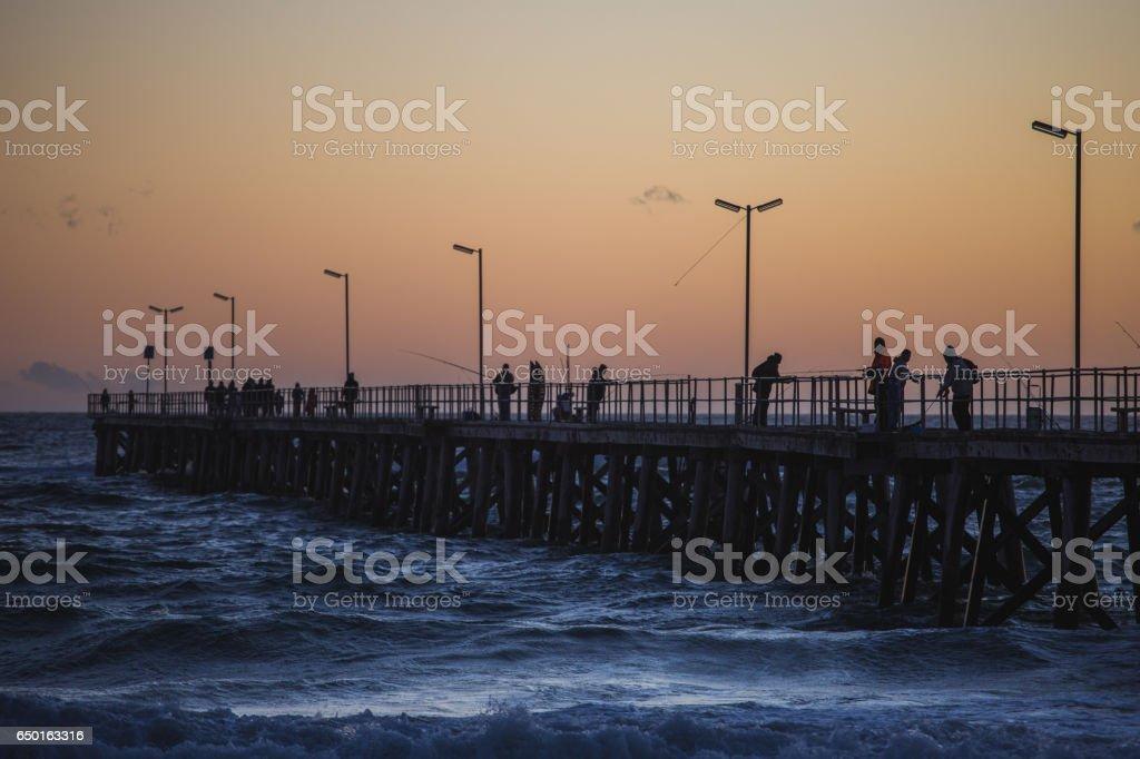 jetty stock photo