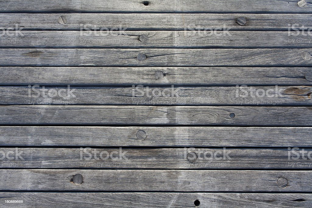 Jetty wood planks royalty-free stock photo