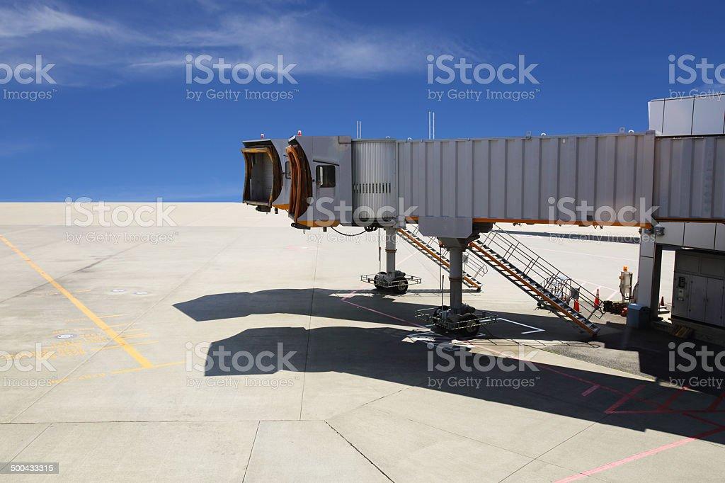 Jetway stock photo