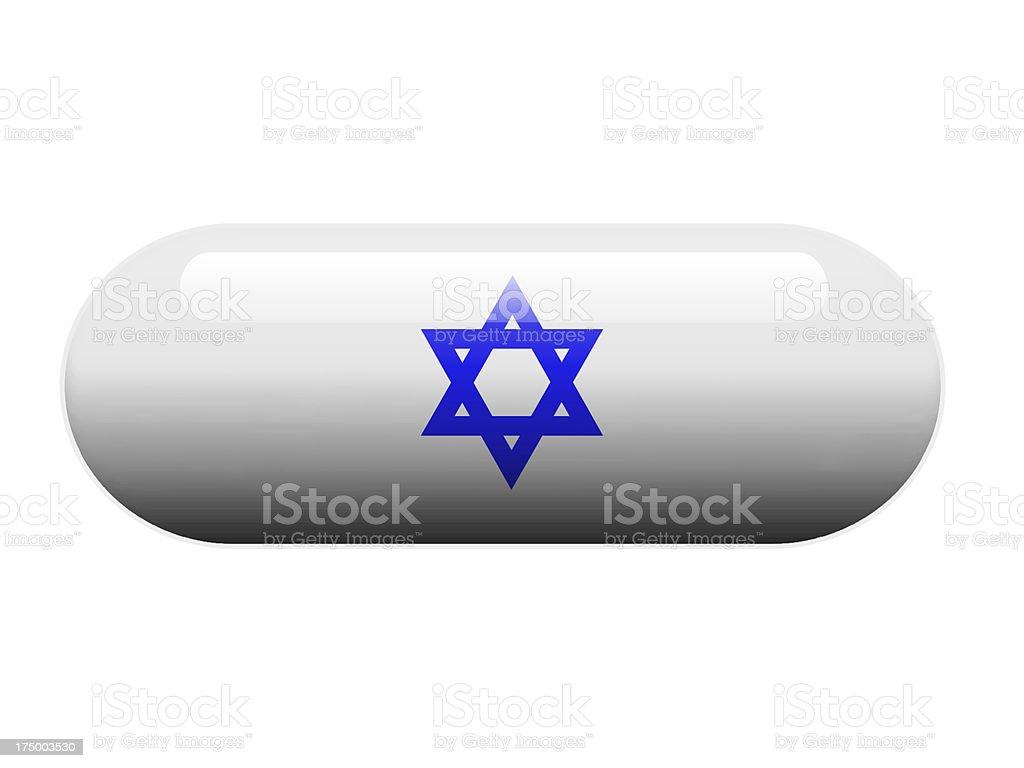 Jew Star pill royalty-free stock photo