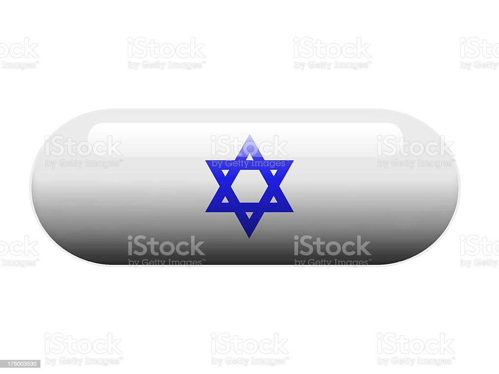 Jew Star pill stock photo