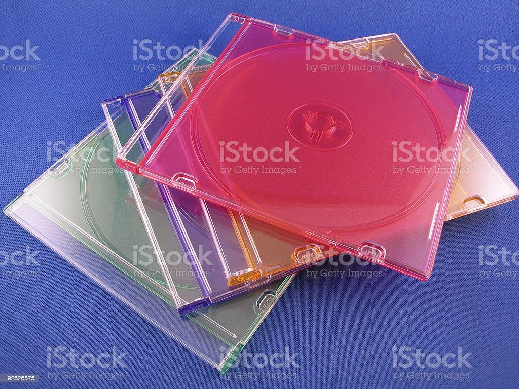Jewel Cases stock photo