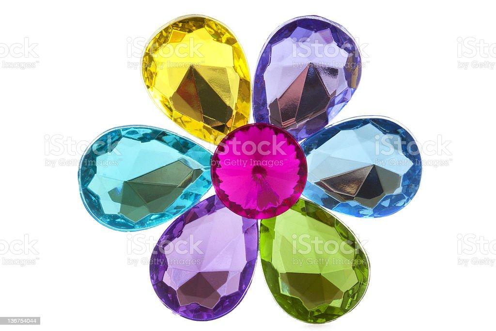 Jewel flower royalty-free stock photo