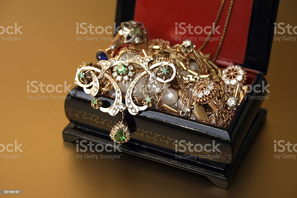 jewelcase royalty-free stock photo