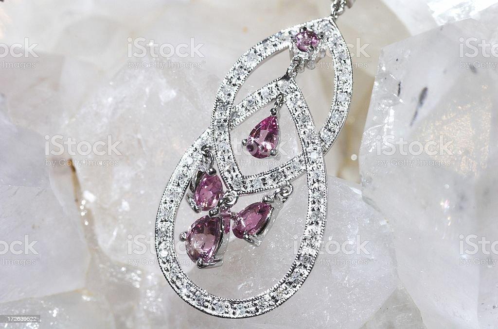 jeweled pendant stock photo