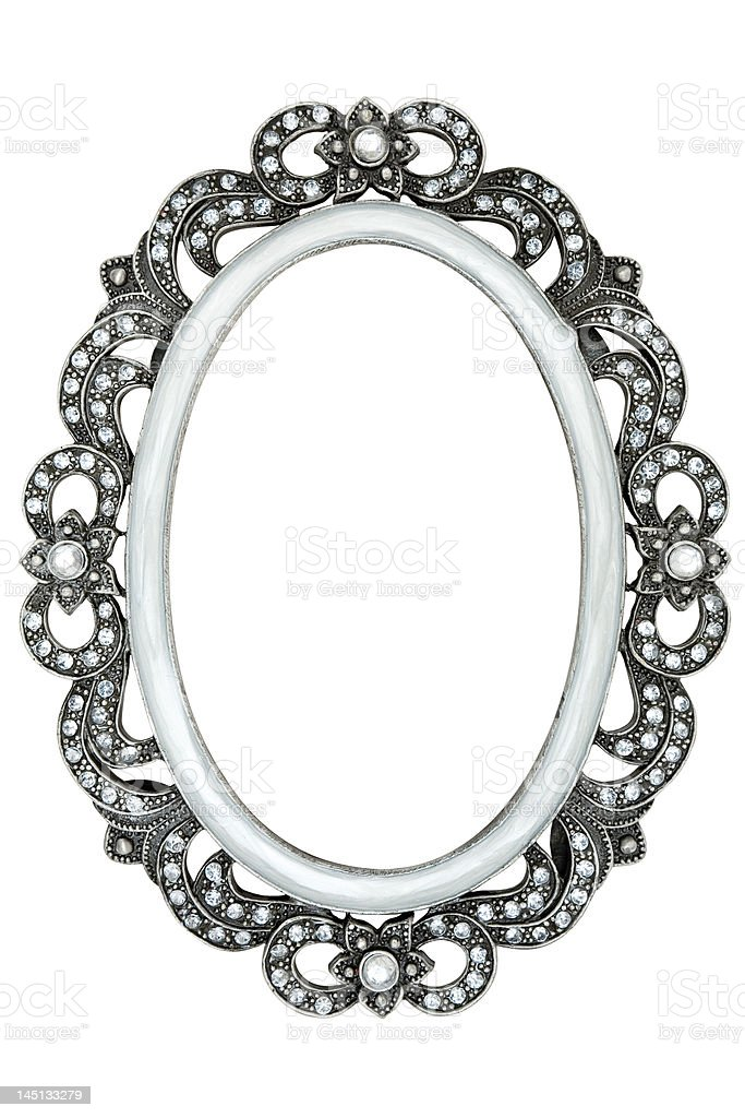 Jeweled Picture Frame royalty-free stock photo