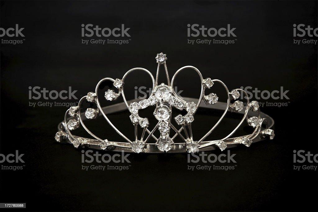 Jeweled tiara royalty-free stock photo