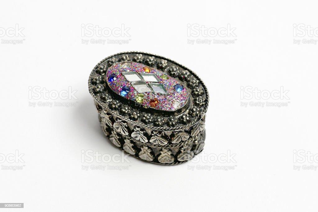 Jewellery box royalty-free stock photo