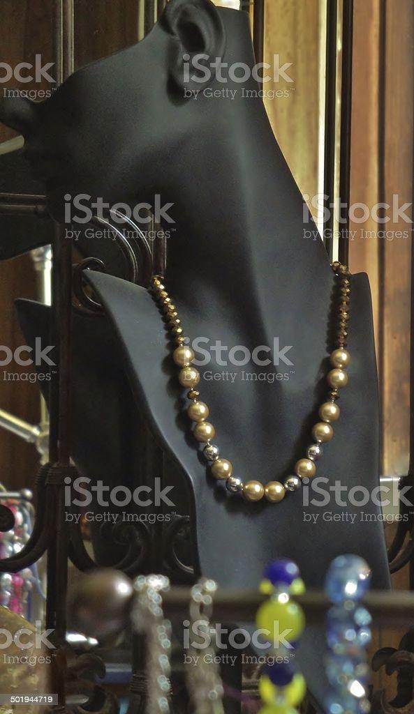 Jewellery Display stock photo