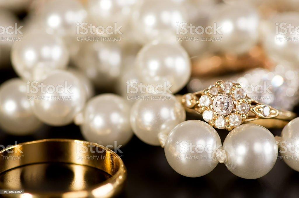 Jewellery. stock photo