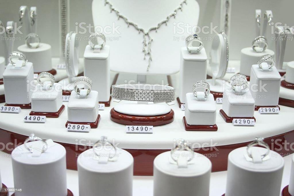 Jewellery Store stock photo