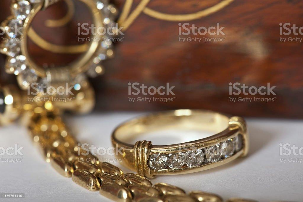 Jewellerys stock photo