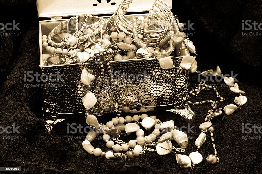 Jewellry Box royalty-free stock photo