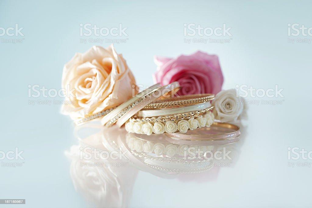 Jewelry Arrangement royalty-free stock photo
